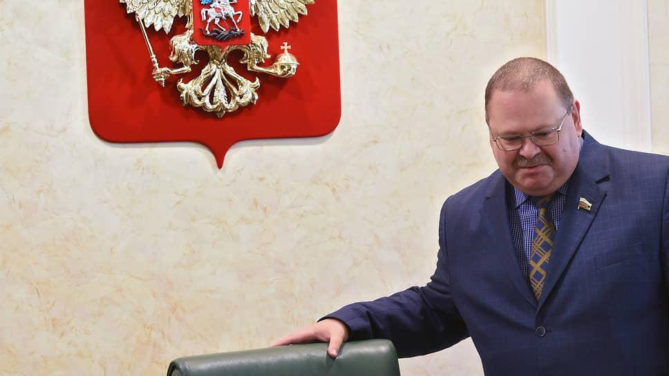 Врио губернатора Пензенской области Олег Мельниченко (на фотографии) сравнил «Областной агропромышленный холдинг» с прачечной для «отмывания»