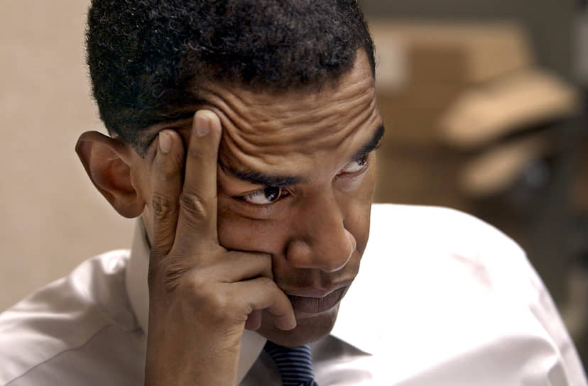 «Люди часто склонны винить политиков в том, что перемены не работают, но, как я всегда говорю, вы получаете таких политиков, каких сами заслуживаете. Если вы не голосуете и не обращаете внимания на жизнь государства, вы получите руководство, которое никогда не будет отражать ваших интересов» <br>В 1996, 1998 и 2002 годах Барак Обама избирался в сенат Иллинойса. В 2005 году избрался в Сенат США