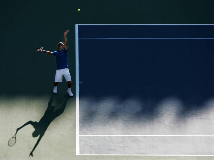 В действующем рейтинге ATP Роджер Федерер занимает 9-е место, набрав 4215 очков