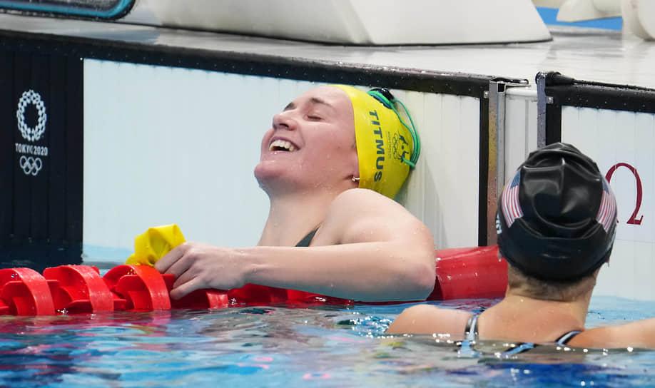 <b>Ариарне Титмус (плавание), 2 золота + 1 серебро + 1 бронза</b><br> 20 летняя австралийка завоевала золотые медали на дистанциях 200 м и 400 м вольным стилем. Также на ее счету одно серебро (800 м вольным стилем) и одна бронза (эстафета 4x200 м вольным стилем)