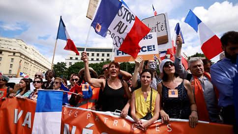 Конституционный совет Франции дал совет нарушить конституцию // Санитарный паспорт вступает в силу 9 августа