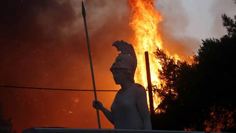 Родину Олимпиады отстояли от огненной стихии