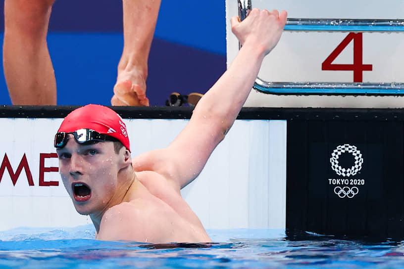 <b>Данкан Скотт (плавание), 1 золото + 3 серебра</b><br> В активе 24-летнего британца победав эстафете 4x200 м вольным стилем, а также серебряные награды на дистанциях 200 м вольным стилем, 200 м комплексным плаванием и в эстафете 4x100 м