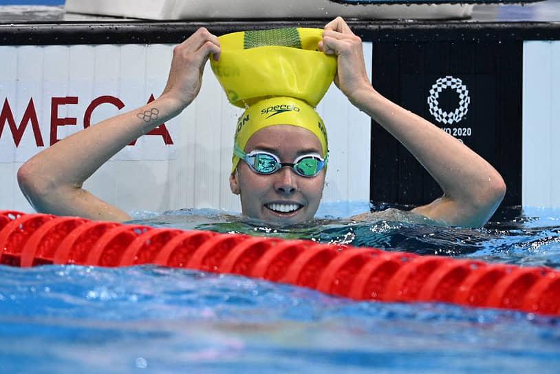 <b>Эмма Маккеон (плавание), 4 золота + 3 бронзы</b><br> 27-летняя австралийская пловчиха завоевала семь медалей, из них четыре золотых (50 и 100 м вольным стилем, эстафеты 4х100 вольным стилем и комбинированная) и три бронзовых (100 м баттерфляй и эстафеты 4х200 вольным стилем и 4х100 м комбинированная смешанная). Она стала второй женщиной в истории, которой удалось получить семь медалей в течение одних Игр