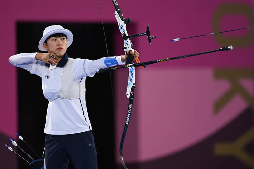 <b>Ан Сан (стрельба из лука), 3 золота</b><br> 20-летняя кореянка взяла золотые медали во всех видах программы лучников (личное первенство, командные соревнования среди женщин и смешанные)