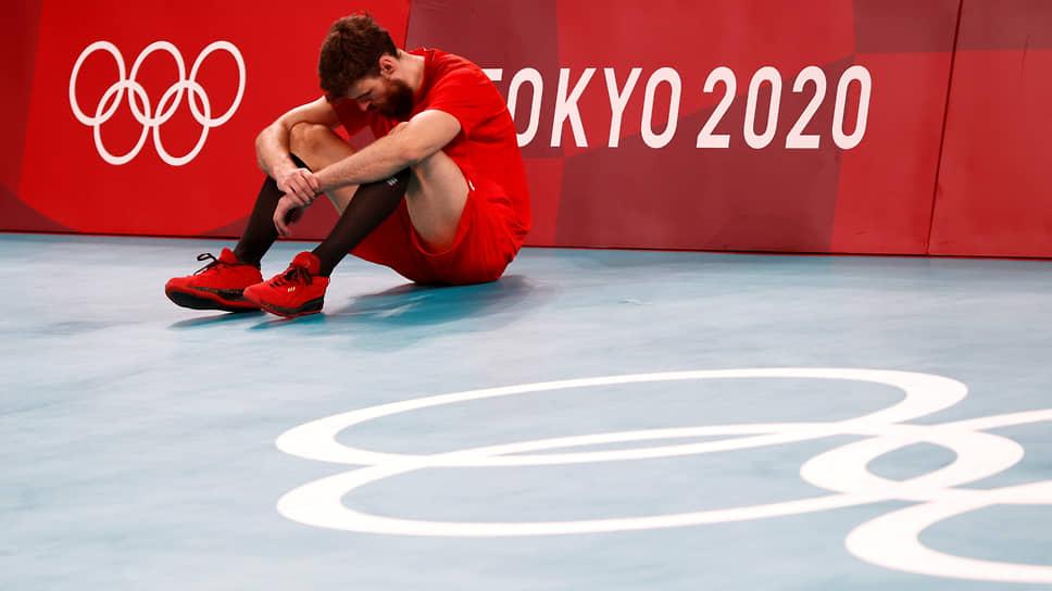 Российский волейболист Егор Клюка