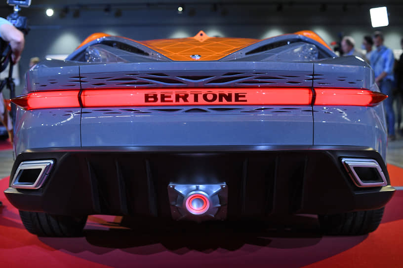 Футуристический автомобиль вобрал в себя всю историю кузовного ателье, но при этом выглядит как автомобиль из будущего