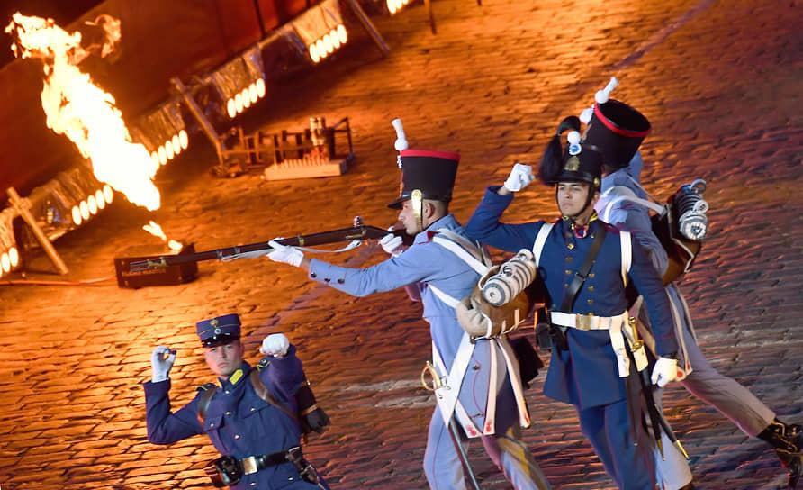 В этом году в фестивале участвуют военные оркестры из России, Белоруссии, Греции, Мексики и Катара