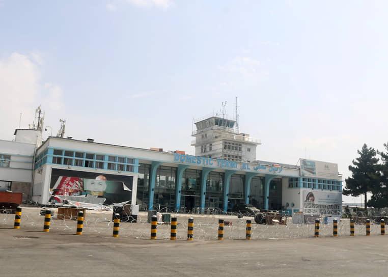 Пустой терминал в аэропорту Кабула