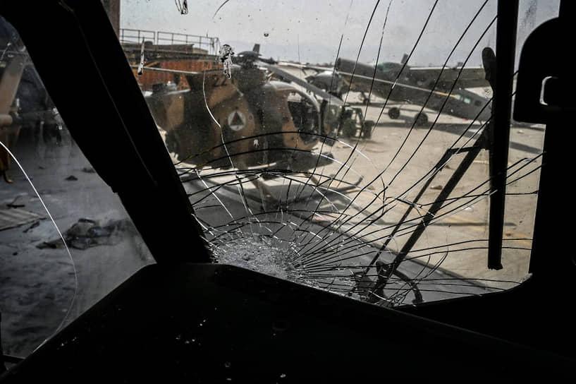 Брошенные боевые вертолеты ВВС Афганистана