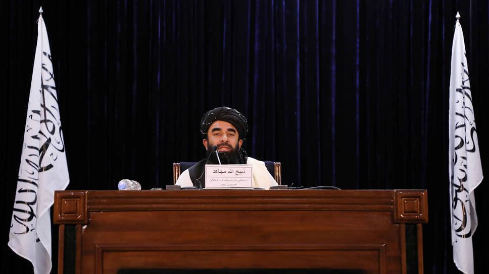 Пресс-секретарь запрещенного в РФ движения «Талибан» Забихулла Муджахид