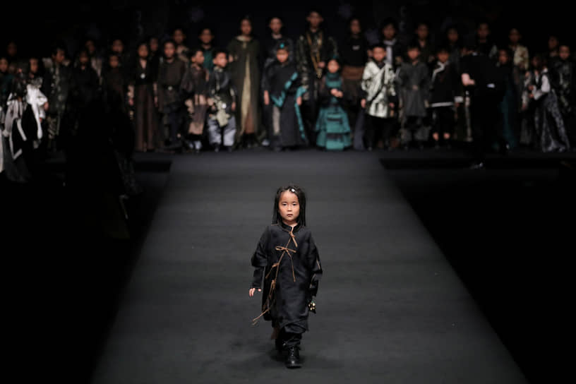 Пекин, Китай. Неделя моды