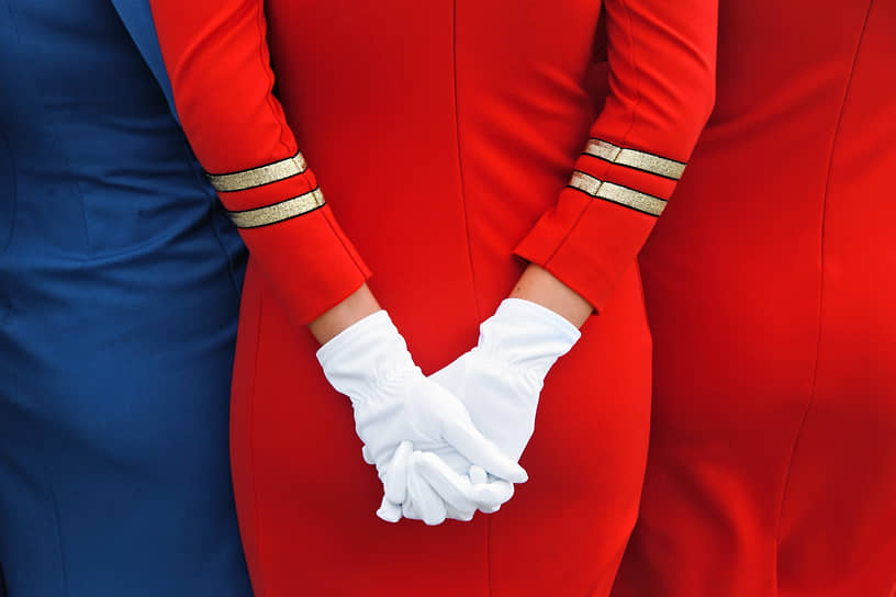 Московская область. Выставка деловой авиации RUBAE в аэропорту Внуково
