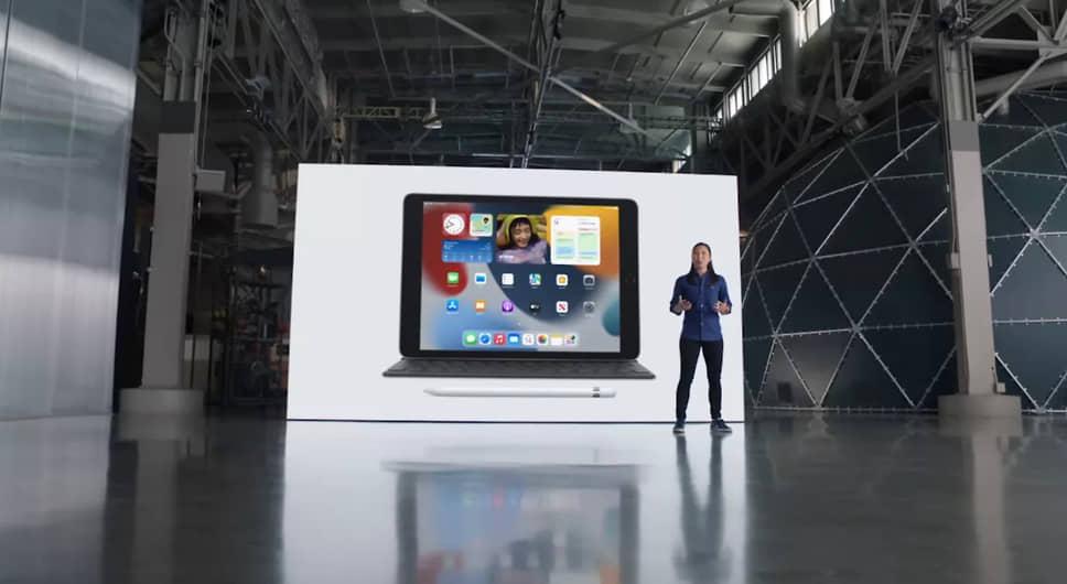 Новый iPad получил процессор A13 Bionic и увеличение производительности на 20%. У модели улучшены камеры, причем фронтальная получила широкоугольный 12 МП объектив
