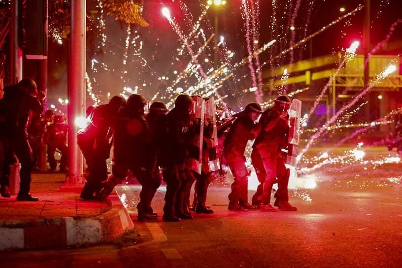 Бангкок, Таиланд. Антиправительственная акция протеста