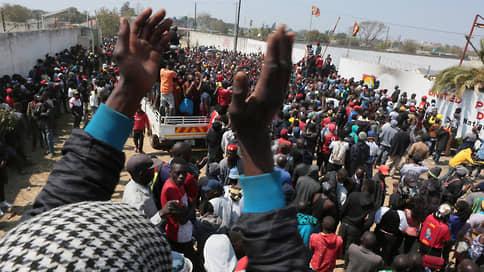 Наблюдай и властвуй  / Как оппозиция одержала победу на выборах в Замбии