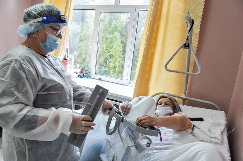 Новосибирск. Голосование в палатах для лежачих больных