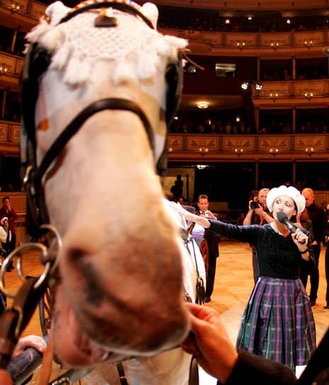 Анна Нетребко на репетиции Венского бала — главного события венского бального сезона