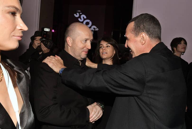 Актеры Сергей Бурунов (слева) и Игорь Верник на церемонии вручения ежегодной премии GQ Men of the Year 2021