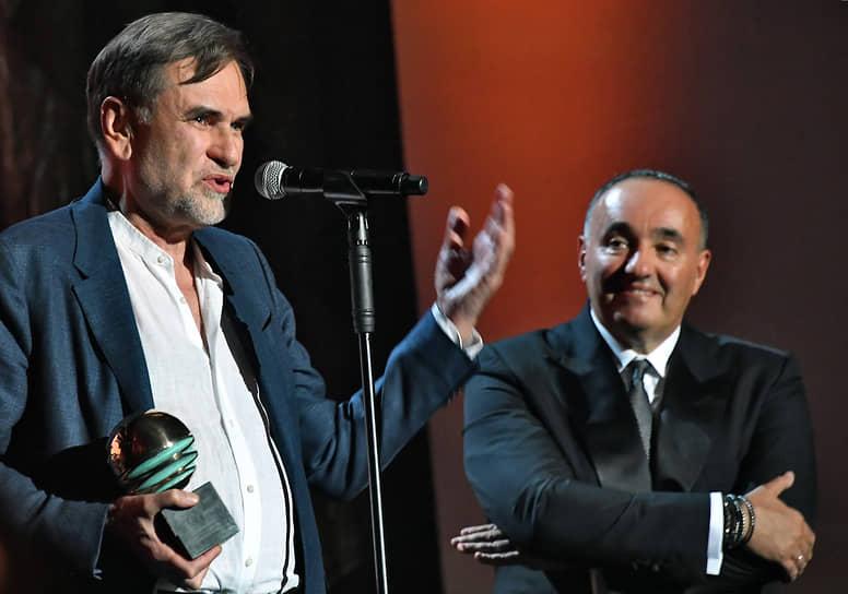 Продюсеры Сергей Сельянов (слева) и Александр Роднянский на церемонии