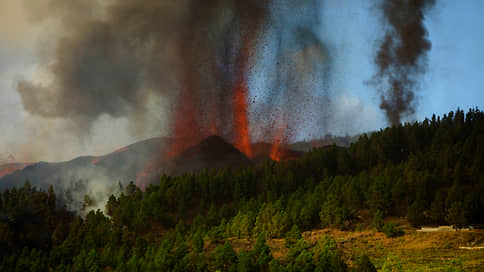 Вулкан на Канарах вышел из спящего режима