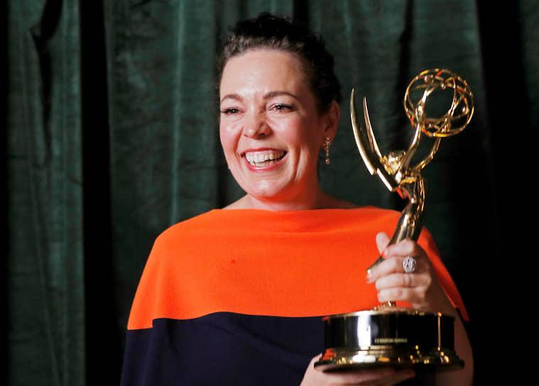 Оливия Колман признана лучшей драматической актрисой за сериал «Корона»