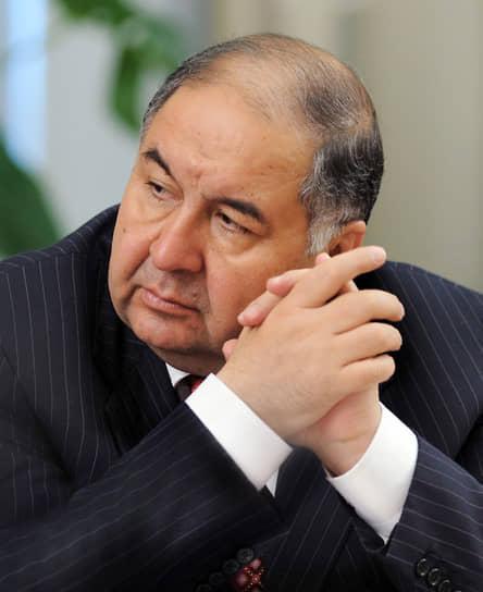 3-е место. Глава USM Holdings Алишер Усманов — $1,43 млрд
