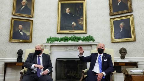 Вашингтон и Лондон стали еще ближе // Джо Байден и Борис Джонсон встретились и остались довольны друг другом