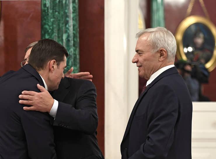 8-е место. Председатель совета директоров, основной владелец Магнитогорского металлургического комбината Виктор Рашников (справа) — $828 млн