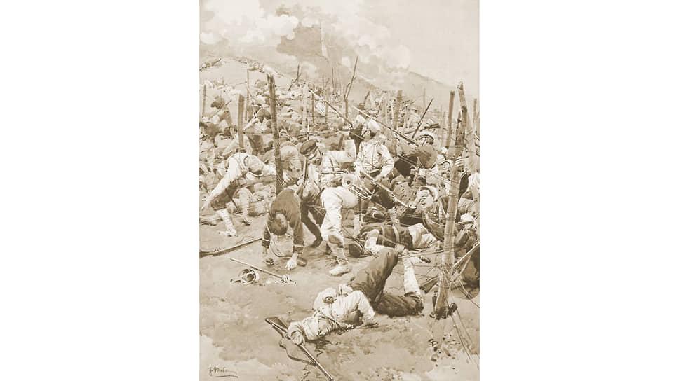 «Это была какая-то неведомая смерть, которая была причиной суеверного страха, долго державшегося в армии»