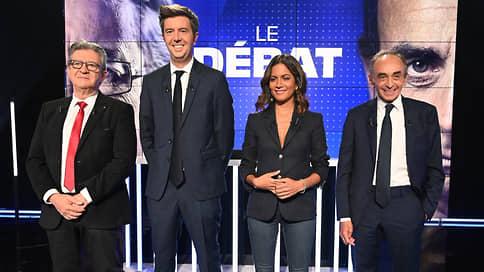 Земмур прав, но Меланшон — лев // Во Франции прошли первые президентские дебаты
