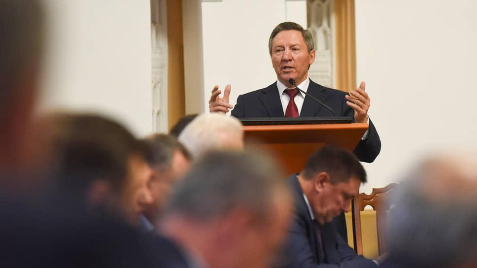 Бывший губернатор Липецкой области и бывший сенатор Олег Королев