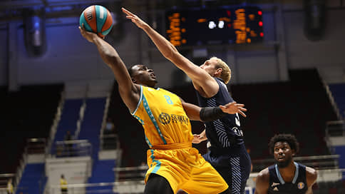 Зенит пострадал от дистанционки // Петербуржские баскетболисты сенсационно уступили Астане