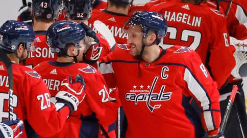 Александр Овечкин зашел с дубля // И попал в пятерку лучших снайперов за всю историю НХЛ