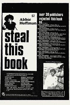 """Март 1971. Книга Эбби Хоффмана об основах выживания, пиратском радио и самосаде """"Украдите эту книгу""""."""