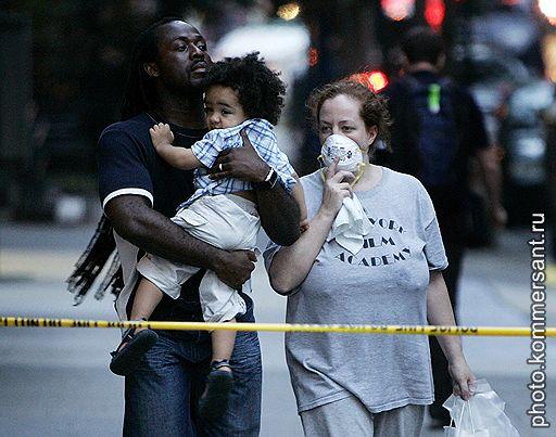 19.07.2007 В центре Манхэттена взорвалась труба паропровода