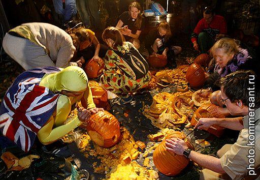 31.10.2007 Празднование Хэллоуина в США