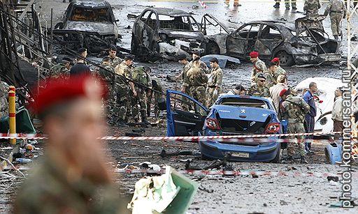 12.12.2007 В христианском пригороде Бейрута (Ливан), где расположен президентский дворец, был взорван заминированный автомобиль