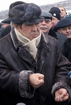 Губернатор Кемеровской области Аман Тулеев. Фото: Сергей Гавриленко / Коммерсантъ. Загружается с сайта Ъ