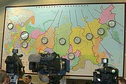 Угрозу распада России, о которой так часто говорили в Кремле, западные аналитики считают не слишком серьезной. Фото: Сергей Михеев / Коммерсантъ. Загружается с сайта Ъ