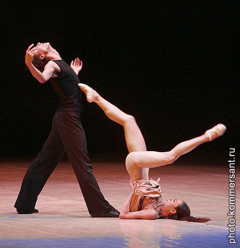 Балерина без трусов
