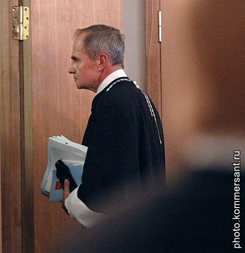 Председатель Конституционного суда Валерий Зорькин, похоже, оказался более стойким к давлению извне, чем предполагали в Кремле. Фото: Алексей Мякишев / Коммерсантъ. Загружается с сайта Ъ
