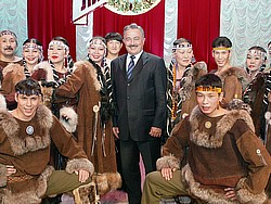 Корякские депутаты возложили на полпреда президента Камиля Исхакова заботы о безработных чиновниках. Фото: Архивное фото / Коммерсантъ. Загружается с сайта Ъ