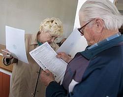 К вечеру в Адыгее проголосовало 45% избирателей. Фото: Алексей Куденко / Коммерсантъ. Загружается с сайта Ъ