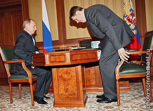 Мордашев у Путина