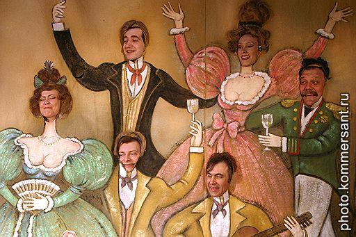 Веселые картинки скрывают наготу «Ревизора» в Театре Маяковского