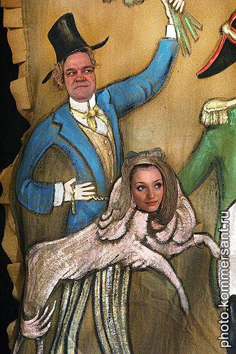 """Спектакль """"Ревизор"""" Н.В.Гоголя в постановке режиссера Сергея Арцибашева в Московском академическом театре имени Вл.Маяковского"""