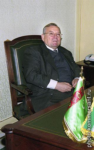 Заместитель управделами аппарата президента Туркмении Александр Жадан
