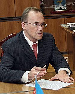 Мэра Орла Александра Касьянова обвиняют в том, что он не вернул недоимки Новочебоксарского домостроительного комбината. Загружается с сайта Ъ