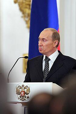 Президент России Владимир Путин был недоволен тем, как страна развивалась восемь лет до него. Загружается с сайта Ъ